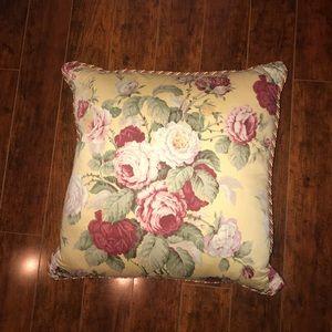 Vintage Ralph Lauren Rose Floral Cover+Pillow